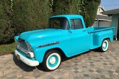 Jim and Sabrina Karras' 1959 Apache 32 Pickup Truck