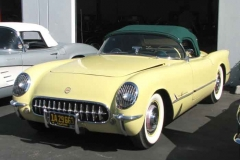 Mike and Sandy Cromer's 1955 Corvette