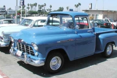 Roy and Carolyn Queen's 1956 Apache 3100 Pickup Truck