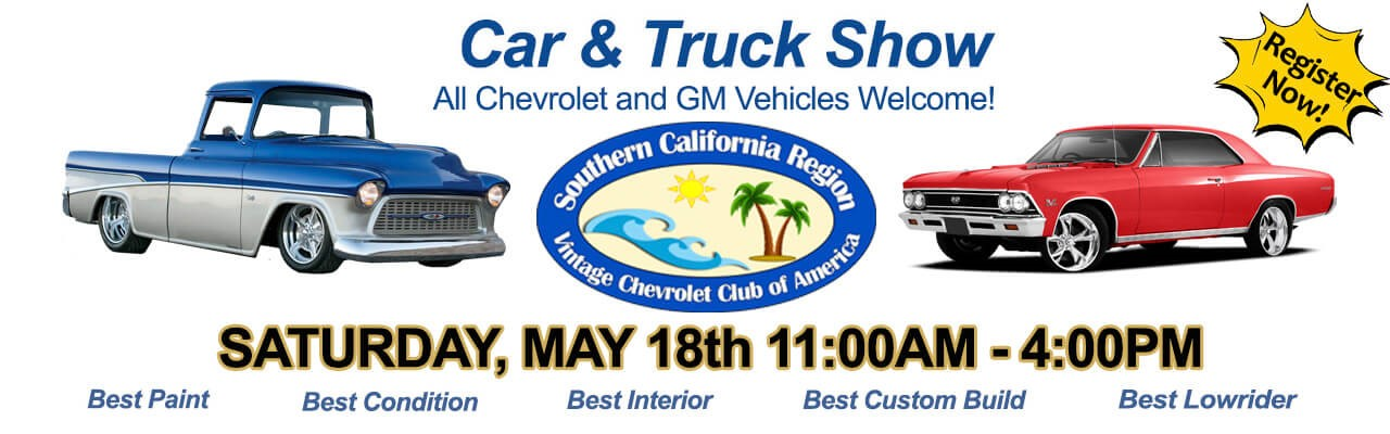 Three Way Chevrolet Bakersfield >> 3-Way Chevy Car Show – Southern California Region, VCCA